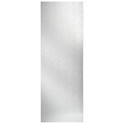 21-23/32 in. x 62-29/32 in. x 1/4 in. (6 mm) Frameless Pivot Shower Door Glass Panel in Rain (For 31 in. Doors)