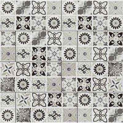 Bailey Rain 11.81 in. W x 23.62 in. L Rigid Core Click Lock Luxury Vinyl Tile Flooring (66 cases/1278.42 sq. ft./pallet)