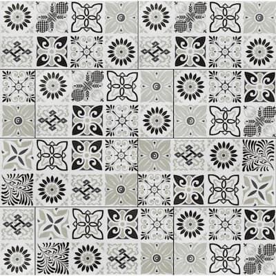 Bailey Rain 11.81 in. W x 23.62 in. L Rigid Core Luxury Vinyl Tile Flooring (19.37 sq. ft. / case)