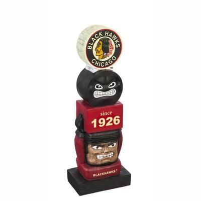 Chicago Blackhawks NHL Vintage Team Garden Statue