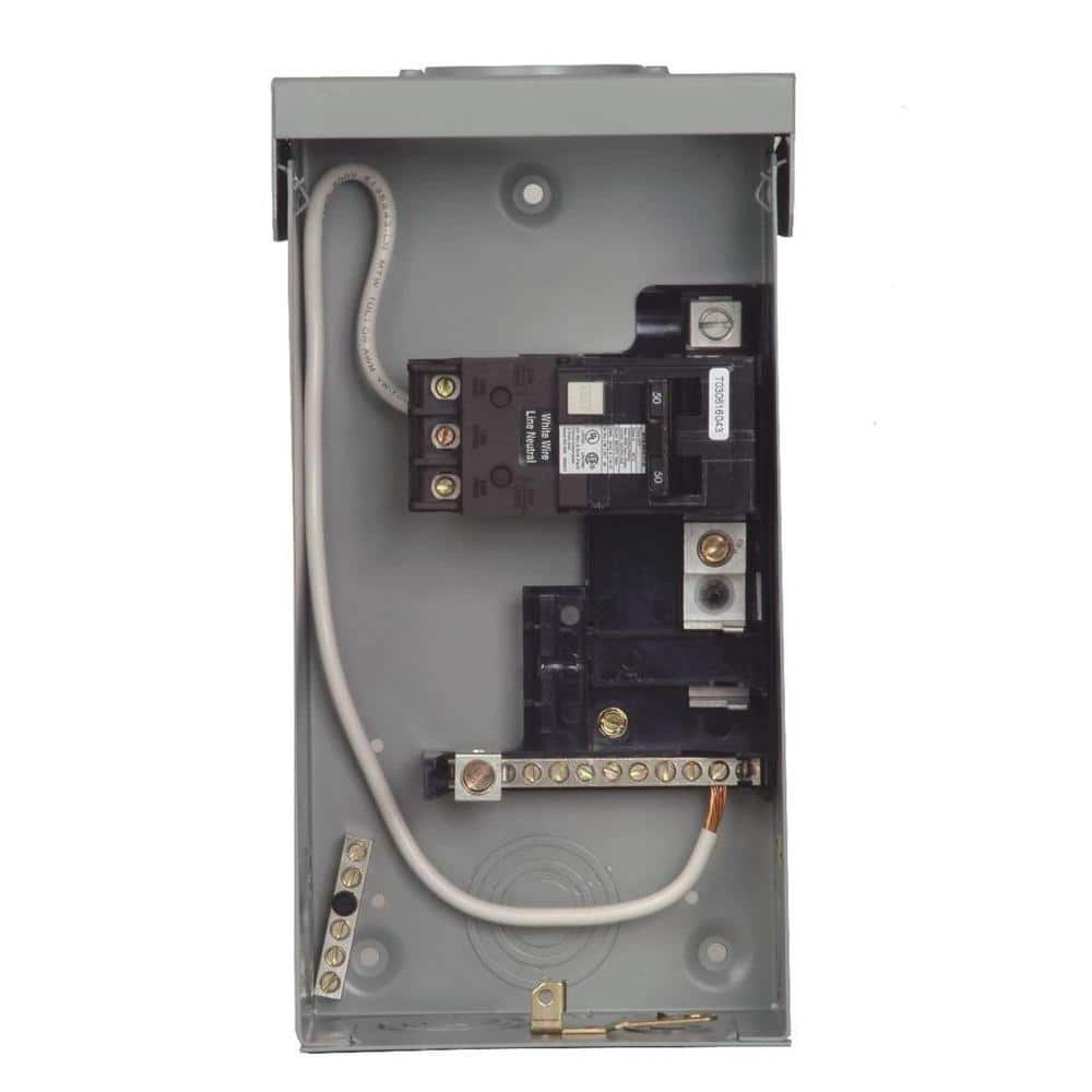 Spa /& hot tub Siemens load center with 60A GFCI breaker double poles 120//240V