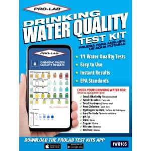 Drinking Water Quality Test Kit