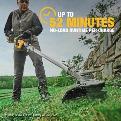 20V MAX Lithium-Ion Brushless Cordless String Trimmer with (1) 5.0Ah Battery and Charger Included