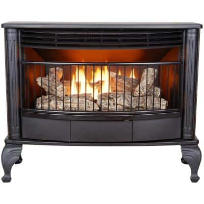 ProCom  Vent Free Indoor Stove 25,000 BTU, Free Standing, Dual Fuel Propane and Natural Gas