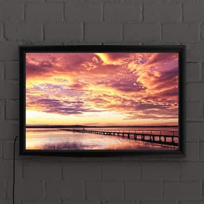 Sunset Posters Art Prints Wall Art The Home Depot