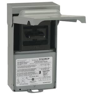 60 Amp 240-Volt Fused AC Disconnect