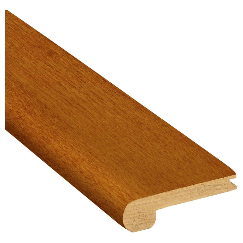 Bruce Gunstock 3 8 In Thick X 2 3 4 In Wide X 78 In Length Red Oak Stair Nose Molding T83131141 The Home Depot