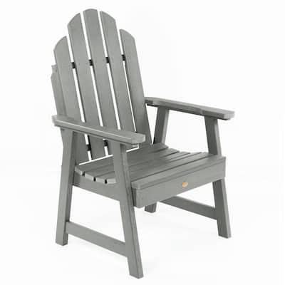 Classic Westport Garden Coastal Teak Stationary Plastic Outdoor Lounge Chair