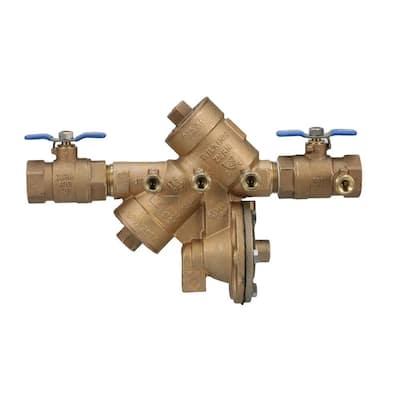 1 in. Brass Reduced-Pressure Backflow Preventer