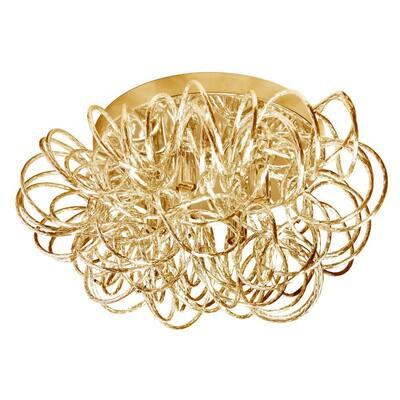 Baya 4-Light Gold Flush Mount