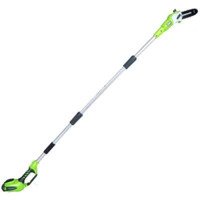 8 in. 40-Volt Battery Cordless Pole Saw with 2.0Ah Battery and Charger