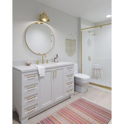54 Inch Vanities Bathroom Vanities With Tops Bathroom Vanities The Home Depot