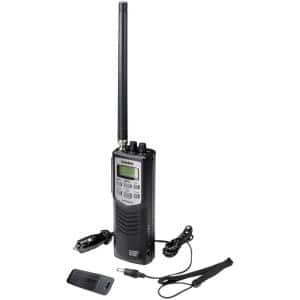 40-Channel Handheld CB with Weather Alert