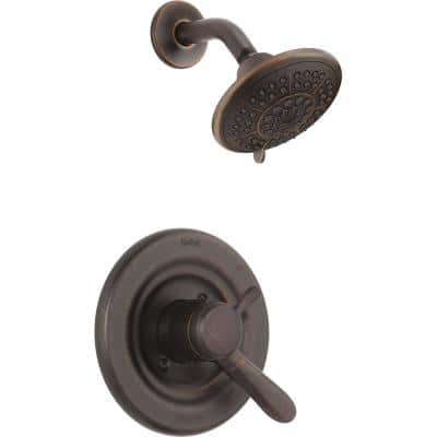 Lahara 1-Handle Shower Only Faucet Trim Kit in Venetian Bronze (Valve Not Included)