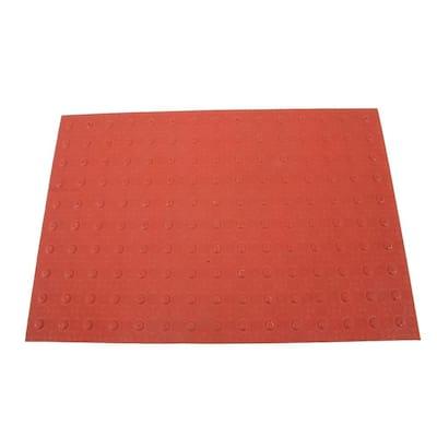 2 ft. x 3 ft. Brick Red Detectable Warning Tile