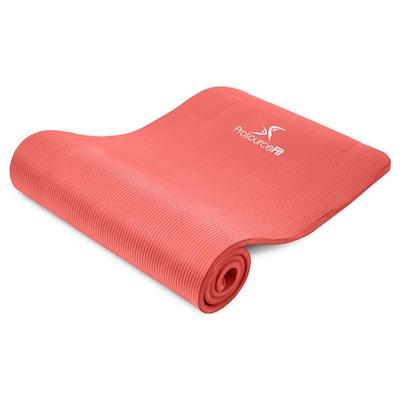 All Purpose Red 71 in. L x 24 in. W x 0.5 in. T Thick Yoga and Pilates Exercise Mat Non Slip (11.83 sq. ft.)