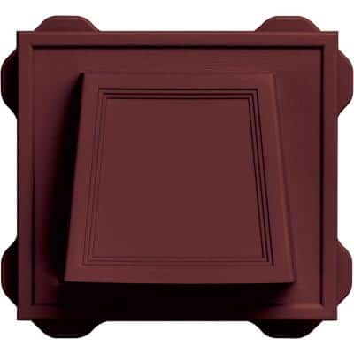 4 in. Hooded Vent #078-Wineberry