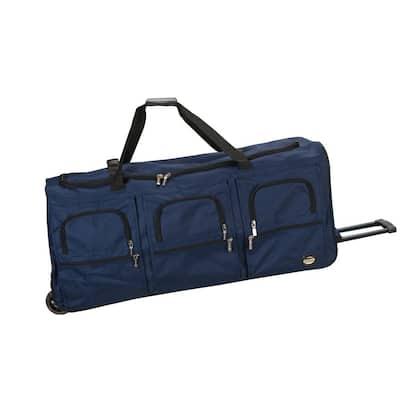 Voyage 40 in. Rolling Duffle Bag, Navy