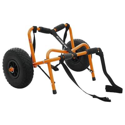 Premium Aluminum Kayak Cart with Airless Tires
