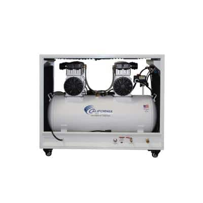 20 Gal. 4.0 HP Ultra Quiet and Oil-Free Electric Air Compressor in Sound Proof Cabinet