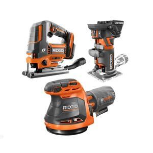 Deals on RIDGID 18-Volt Cordless 3-Tool Combo Kit R8404431SBN