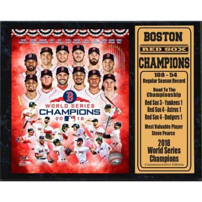 Boston Red Sox Champions Select Framed Canvas Wall Art