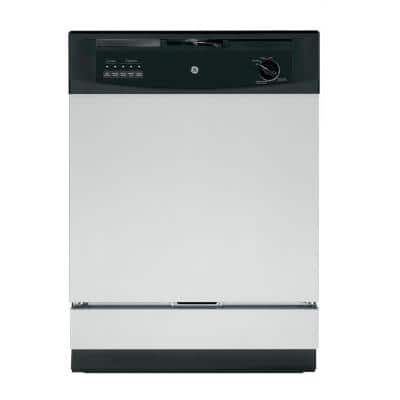 24 in. Stainless Steel Front Control Smart Dishwasher 120-Volt with 62 dBA