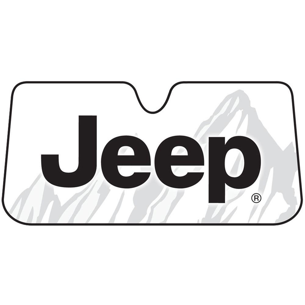Jeep Accordion Windshield Sunshade