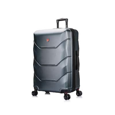 Zonix 30 in. Green Lightweight Hardside Spinner Suitcase