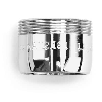 MasterFIT Bubble Spray Bath Aerator - 15/16-27 and 55/64-27 - 1.5 GPM - Bubble Spray in Chrome - WaterSense