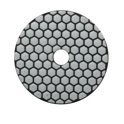 4 in. 200 Grit Resin Dry Polishing Pad