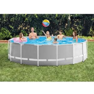 20 ft. W x 48 in. H x 48 in. D Round Ultra XTR Frame Pool with Pump, Ladder and Chemical Cleaning Kit