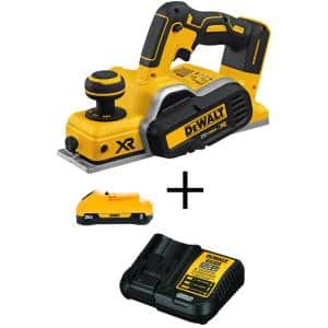 20-Volt MAX XR Cordless Brushless 3-1/4 in. Planer with (1) 20-Volt 3.0Ah Battery & Charger
