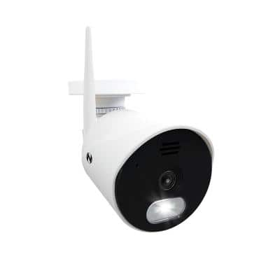 Panoramic HD Wi-Fi IP Wireless Camera with Built-In Spotlight