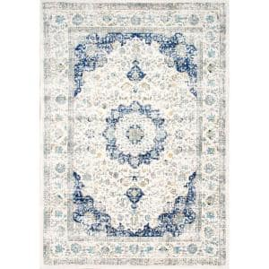 Verona Vintage Persian Blue 12 ft. x 15 ft. Area Rug