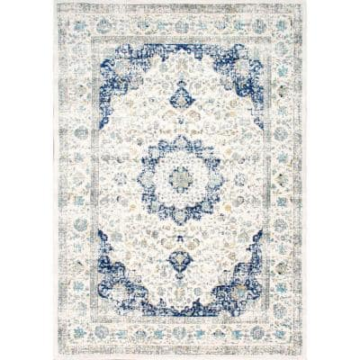Verona Vintage Persian Blue 4 ft. x 6 ft. Area Rug