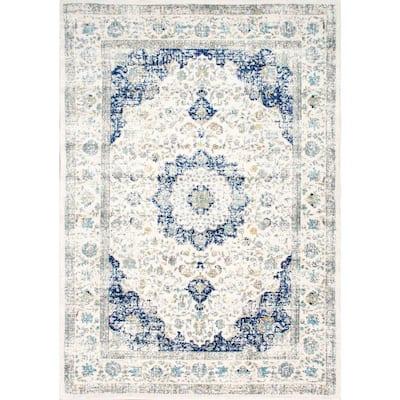 Verona Vintage Persian Blue 5 ft. x 8 ft. Area Rug