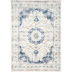 Verona Vintage Persian Blue 9 ft. x 12 ft. Area Rug