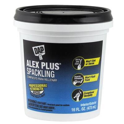 Alex Plus 16 oz. High Performance Spackling Paste