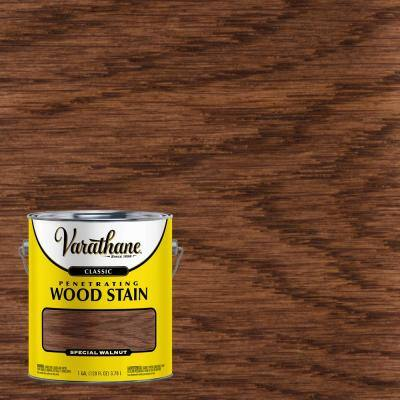 1 gal. Special Walnut 250 VOC Classic Wood Interior Stain (2-Pack)