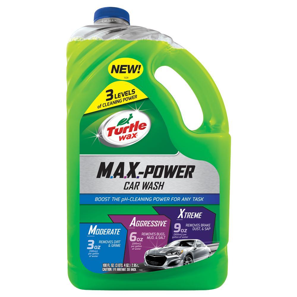 100 fl. oz. Max-Power Car Wash