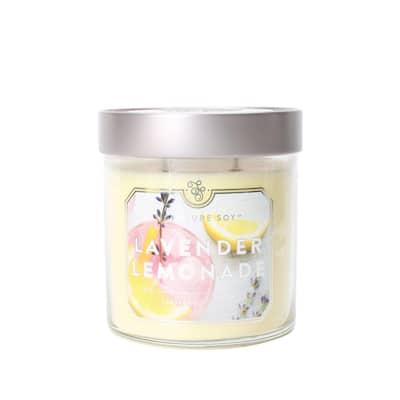15.2 oz. Lavender Lemonade Scented Candle