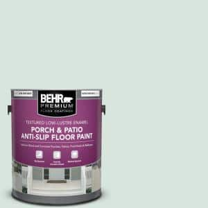Behr Premium 1 Gal S420 1 New Day Textured Low Lustre Enamel Interior Exterior Porch And Patio Anti Slip Floor Paint 625001 The Home Depot