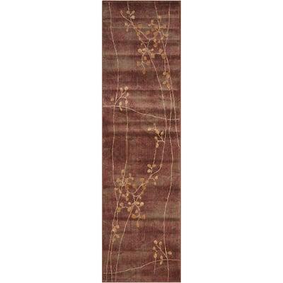Somerset Multicolor 2 ft. x 6 ft. Oriental Modern Runner Rug