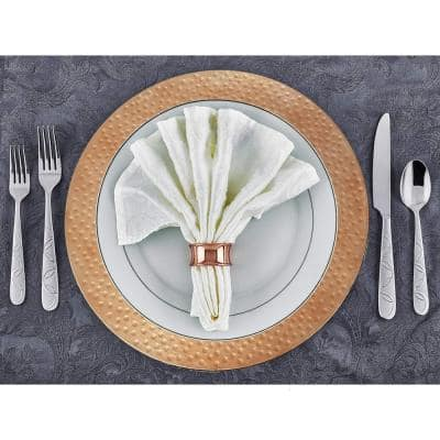 Copper Charger Plate (Set of 8)