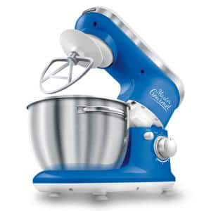 4.2 Qt. 6-Speed Blue Stand Mixer with Dough Hook