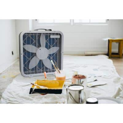 Air Flex 20 in. 3- Speed Air Purifier and Room Fan