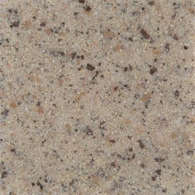 4 in. Solid Surface Technology Vanity Top Sample in Mojave