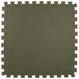 Premium Gray 24 in. x 24 in. x 5/8 in. Foam Interlocking Floor Mat (Case of 25)