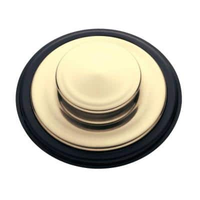 Garbage Disposal 3.25 in. Sink Stopper in French Gold for InSinkErator Disposal